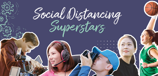 Social Distancing Superstars