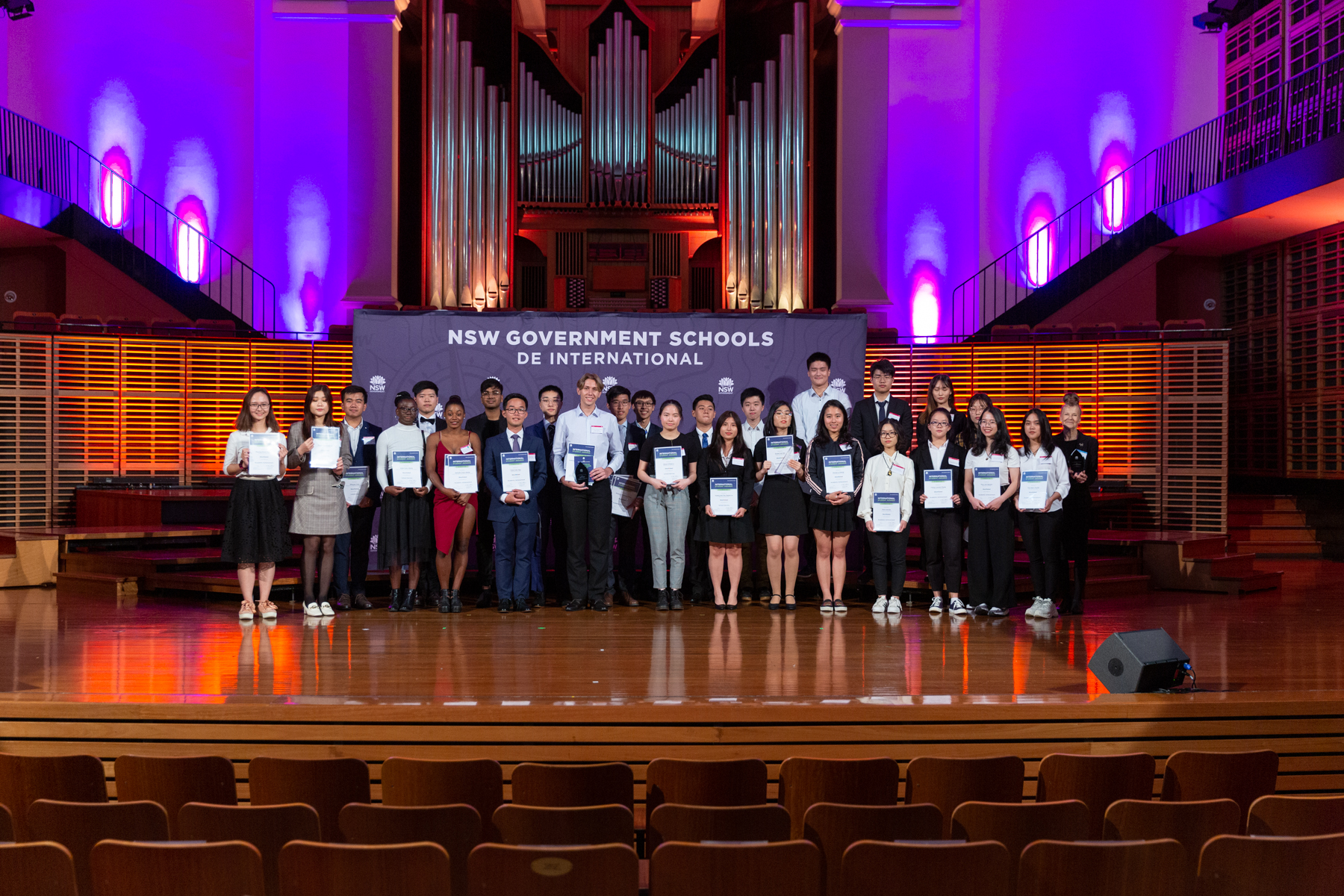 Students shortlisted for a 2020 NSW Government Schools International Student Award