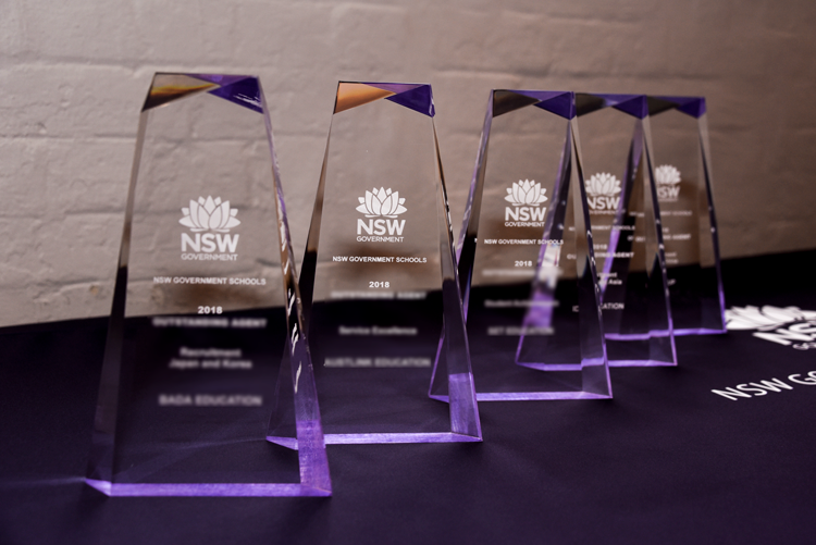 NSW award trophies