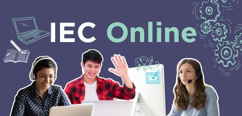 iEC Online carousel decorative